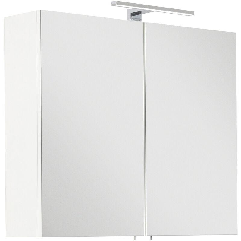 Toilette Blanc InclLampe Série 75 Led Santini Armoire De 2YWDHE9I