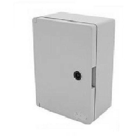 Armoire électrique étanche saillie - 280 x 210 x 130 mm avec plaque de fond