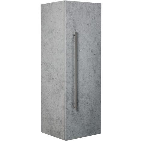 Armoire haute 100 cm Aspect Béton