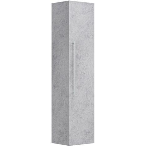 Armoire haute 150 cm Aspect Béton