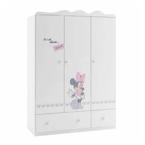 Armoire MINNIE MOUSE, 135 cm
