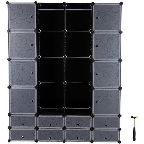 armoire penderie cubes tag re de rangement modulables. Black Bedroom Furniture Sets. Home Design Ideas