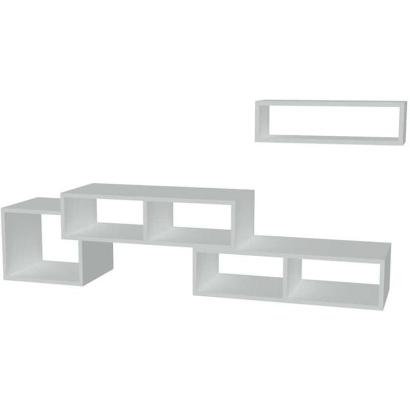 Homemania TV-Schrank Armonia 170x29,5x41,8 cm Weiß