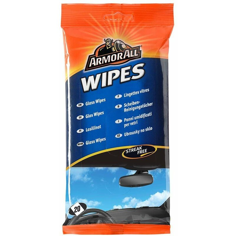 Image of Glass Wipes - Armorall
