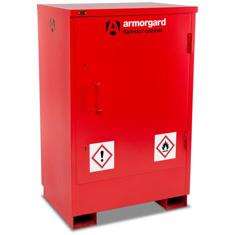 Armorgard - Armoire rouge 800 x 585 x 1250 mm FlamStor - FSC2