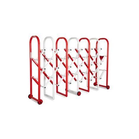 Armorgard - Barrière de foule extensible InstaGate 2185x540x1380 mm rouge et blanc - IG4