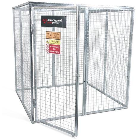 Armorgard - Cage à gaz en acier galvanisé argent 2400x3600x1800 mm Gorilla GAS CAGE - GGC13