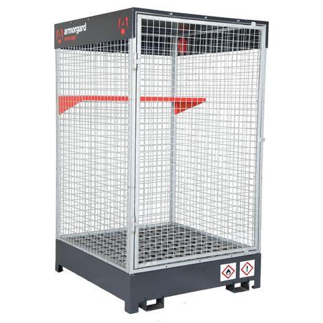 Armorgard - Cage de stockage COSHH avec bac de rétention 290 L et étagère 1215x1265x2100 mm DrumCage - DRC4