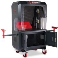 Armorgard CuttingStation Mobile Site Work Bench Extendable 1360x750x1900mm