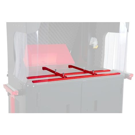 Armorgard - Fixation universelle CuttingStation 30x1000x550 mm rouge - SS7C