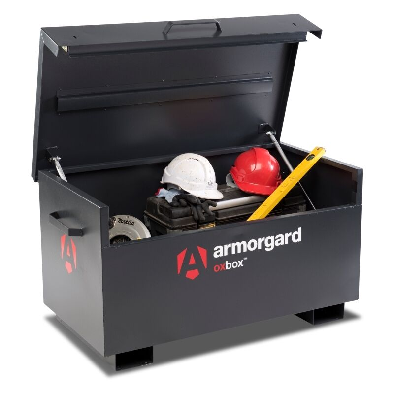 Image of Armorgard OxBox OX3 Site Secure Box Storage Safe Store 1200x665x630mm