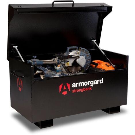 Armorgard StrongBank SB2 Site Secure Box Storage Safe Store 1310x690x665mm