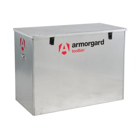 Armorgard Toolbin Galvanised Storage Box 1165 x 560 x 860 mm