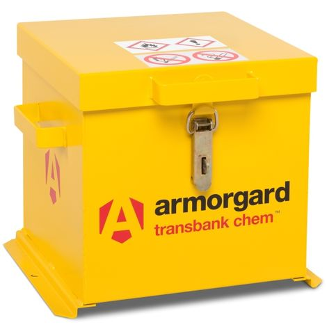 Armorgard TransBank for Chemicals 430 x 415 x 365mm Bright Yellow