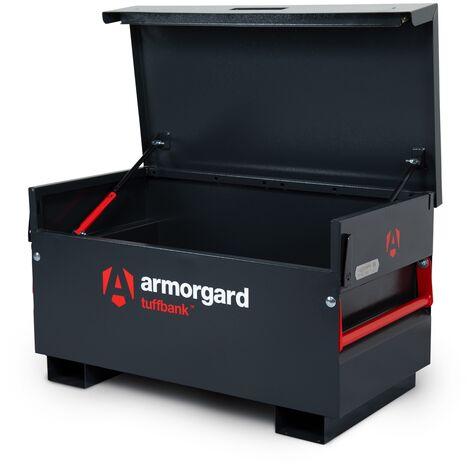 Armorgard TuffBank TB2 Site Secure Box Storage Safe Store 1275x665x660mm