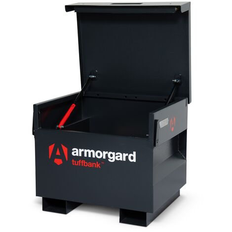 Armorgard TuffBank TB21 Site Secure Box Storage Safe Store 765x675x670mm