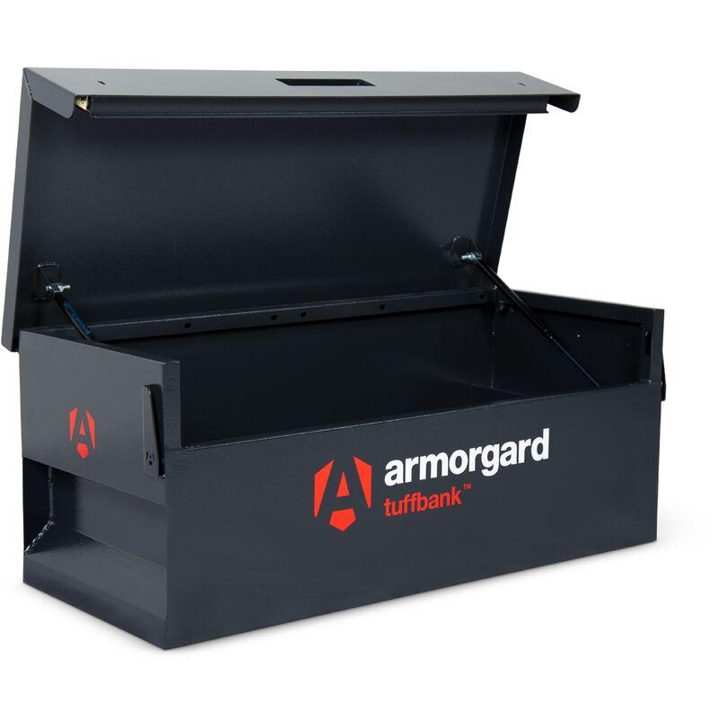 Image of Armorgard TuffBank TB12 Secure Truck Van Vault Storage Safe Box 1275x515x450mm