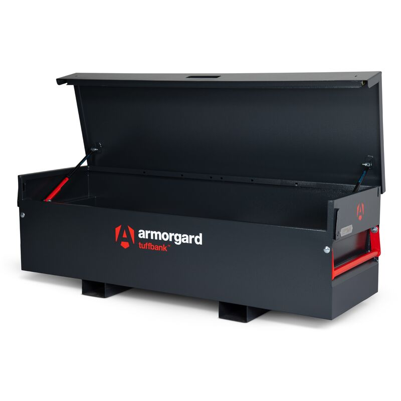 Image of Armorgard TuffBank TB6 Secure Truck Van Vault Storage Safe Box 1970x675x665mm