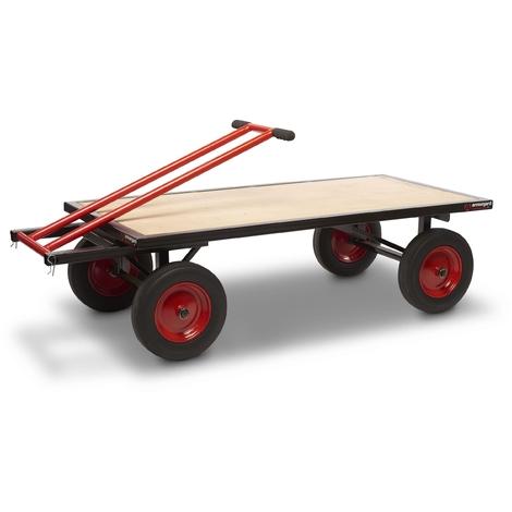 Armorgard TurnTable Truck Heavy Duty Platform Trolley 1000kg 700x1575x460mm