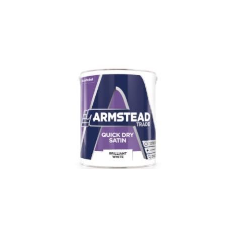Armstead Trade Quick Dry Satin Brilliant White
