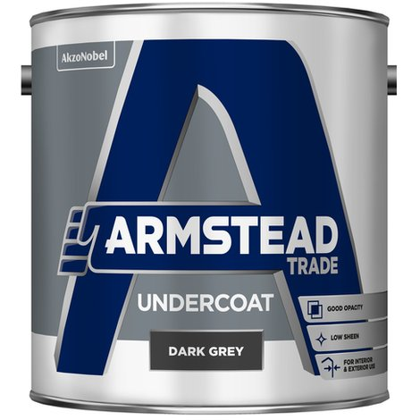 Armstead Trade Undercoat White 5 Litres