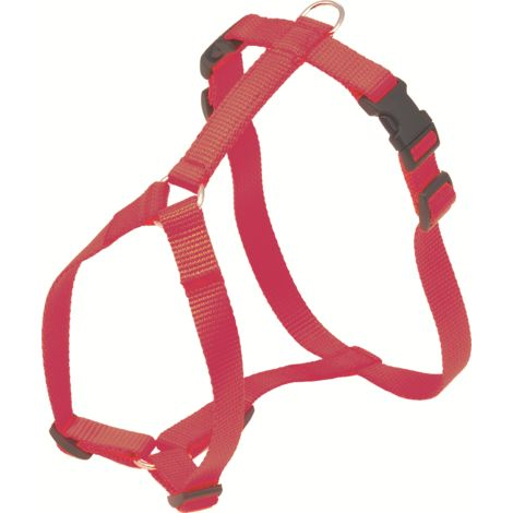 Arnés súper suave ajustable. Color Rojo