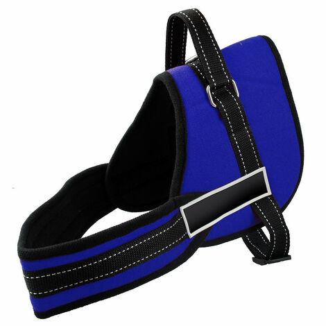 Arnés ajustable de perro acolchado para el adiestramiento educación