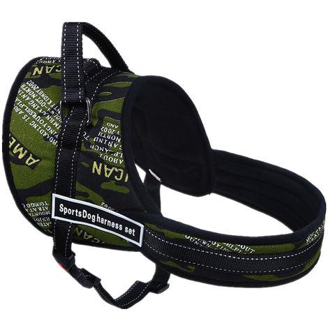 Arnés ajustable para perros para accesorios medianos grandes para perros Kit XL 73-96cm B XL Sasicare