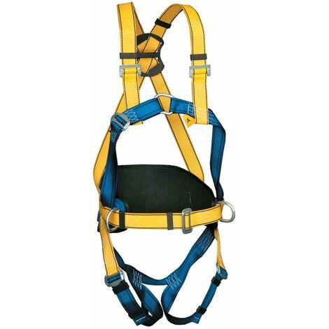 Arnés anticaídas dorsal y esternal con cinturón P56 - EN361 y EN358 | Hebillas