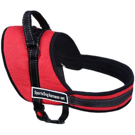 Arnés de perro ajustable para accesorios medianos grandes para perros Kit XL 73-96cm A XL Sasicare