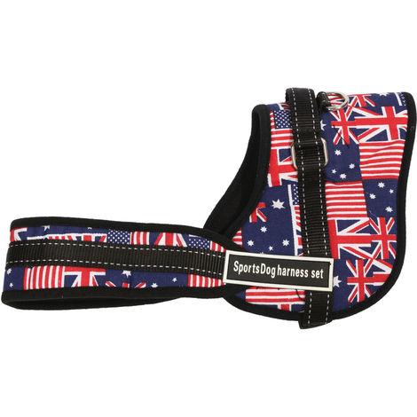 Arnés de perro ajustable para accesorios medianos grandes para perros Kit Xl 73-96Cm C Xl Hasaki