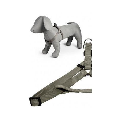 Arnés nylon 15mmx35-60cm, gris