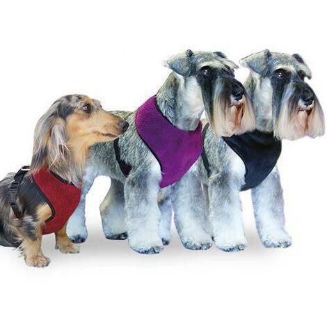 Arnés para perros de forro polar, proteje el pecho del frió, Softly disponible en varias tallas y colores