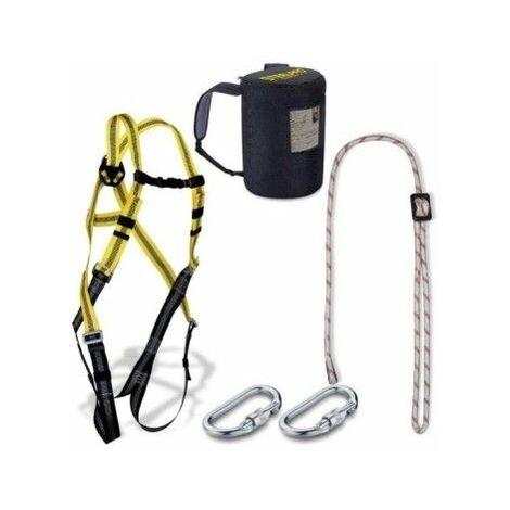 Arnes Seguridad Dorsal Completo Cuerda Regulable Steelpro