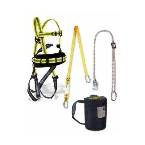 Arnes Seguridad Dorsal/Frontal Completo Cinturon Absorbedor Steel