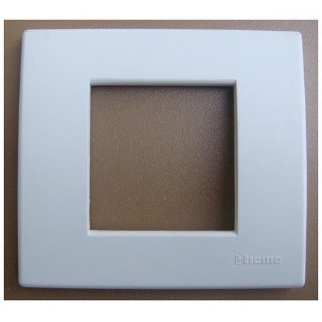 Arnould 22600 - Plaque simple 2 modules - blanc - S.light