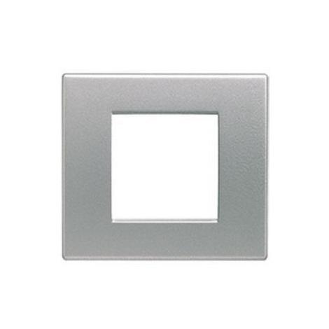 Arnould 22920 - série Light - Plaque 1 poste - Aluminium satin