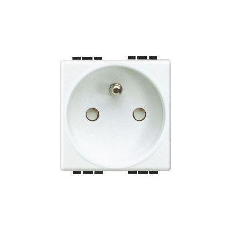 Arnould 23231 Socket 2 P+T 16A 250V - Automatic Terminal - Light