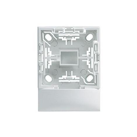 Arnould 63861 Cadre Adaptateur 1 poste pour moulure DP Plus 32x12.5mm - Profil 2