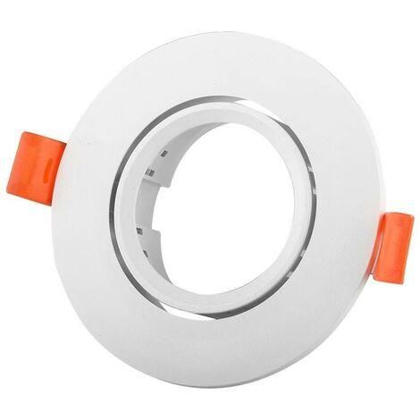 Aro downlight empotrable circular basculante GU10, MR16