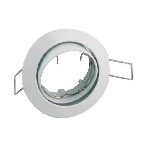 Aro embellecedor Bombilla GU10 Redondo Blanco Electro Dh 12.672/B/Z/B 8430552105984