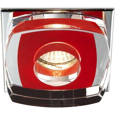 Aro empotrable Avalio rojo CRISTALRECORD 00-140-01-142