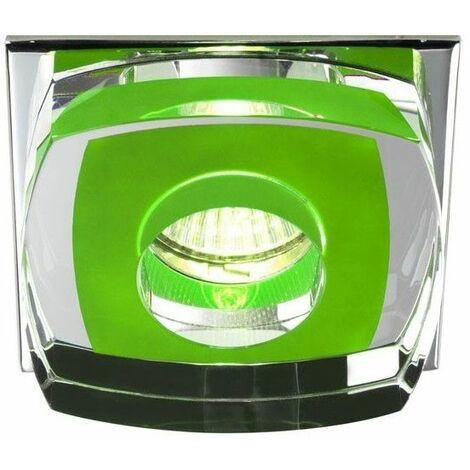 Aro empotrable Avalio verde CRISTALRECORD 00-140-01-160