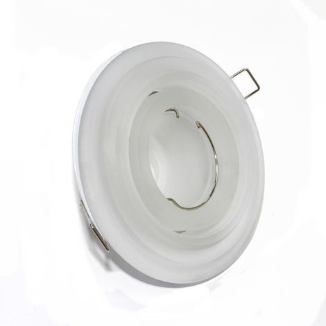 Aro empotrable basculante escalonado blanco CRISTALRECORD 10075000200
