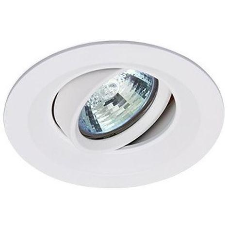 Aro empotrable basculante redondo 105mm Blanco GSC 0705226