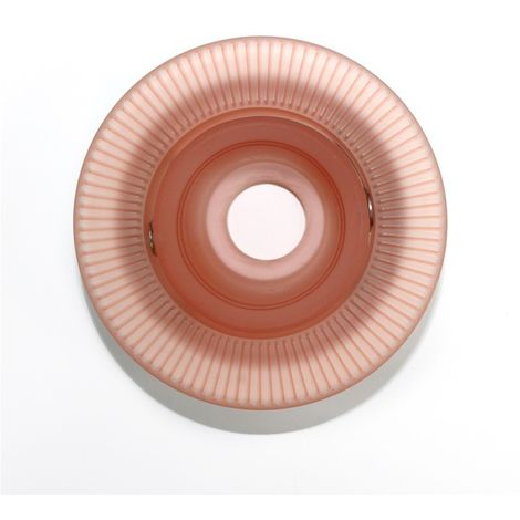 Aro empotrable basculante redondo cristal rayas rosa CRISTALRECORD 10066002900