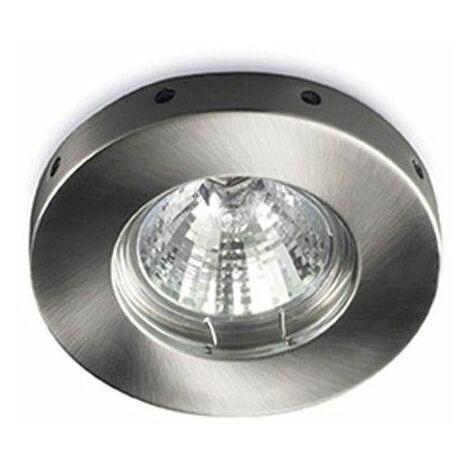 Aro empotrable LED fijo Horus cromo CRISTALRECORD 01-840-01-100
