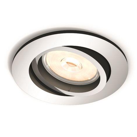 Aro Empotrable Philips Donegal Circular Cromado GU10 | Sin Bombilla/Ver Accesorios (PH-8718696160855)