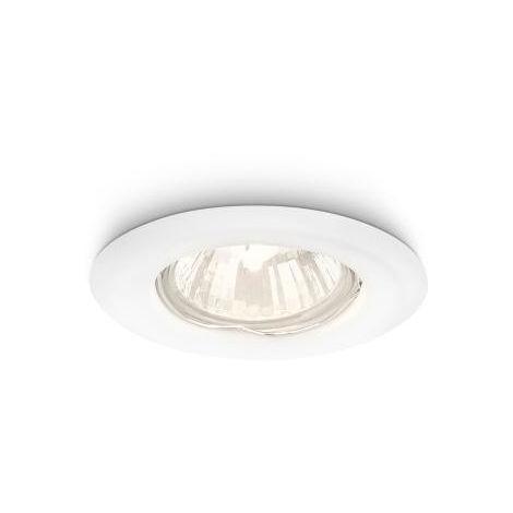 Aro Empotrable Philips Enif Circular Blanco GU10 [PH-8718696133309] | Sin Bombilla/Ver Accesorios (PH-8718696133309)