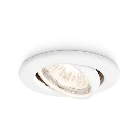 Aro Empotrable Philips Enif Circular Blanco GU10 | Sin Bombilla/Ver Accesorios (PH-8718696133361)